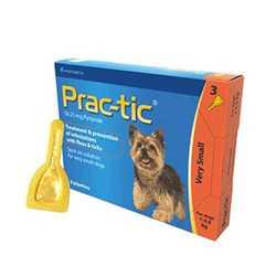Prac-tic капли для собак 2 - 4,5 кг