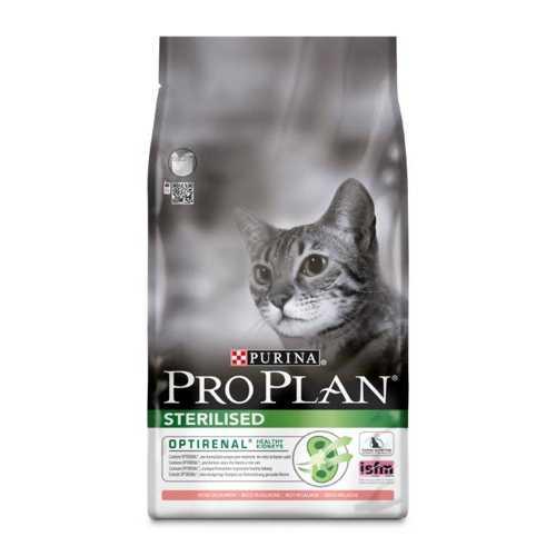 Pro Plan After Care Salmon | Сухой корм Про План для стерилизованных кошек и кастрированных котов с лососем 1,5 кг