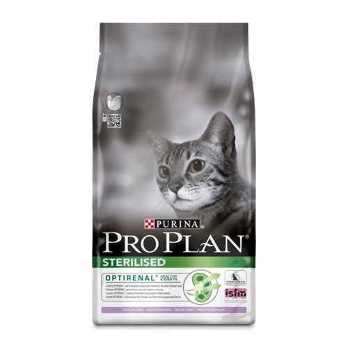 Pro Plan After Care Turkey   Сухой корм Про План для стерилизованных кошек и кастрированных котов с индейкой 1,5 кг