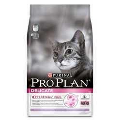 Pro Plan Delicate | Сухой корм Про План для кошек с чувствительной кожей и пищеварением 10 кг кг