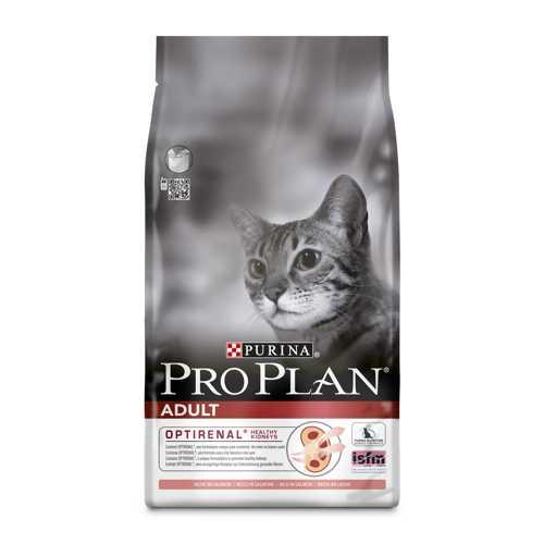Pro Plan Salmon | Сухой корм Про План для взрослых кошек с лососем 1,5 кг