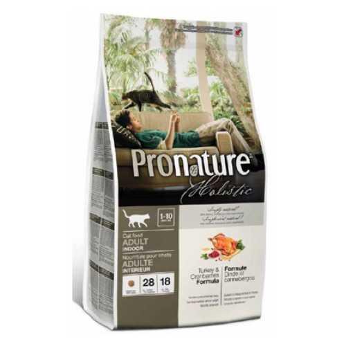 Pronature Holistic Turkey & Cranberries | Пронатюр Холистик сухой корм для кошек индюшка с клюквой 2.7 кг