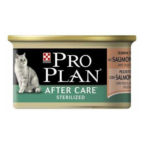 Pro Plan After Care | Консервы Про План для стерилизованных кошек (24 шт х 85 гр)