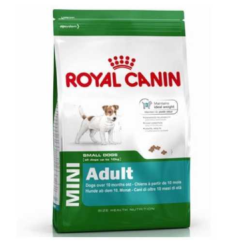 Royal Canin Mini Adult | Сухой корм Роял Канин Мини Эдалт для взрослых собак мелких пород 4 кг