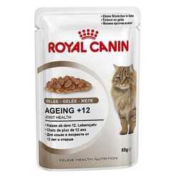 Royal Canin Ageing +12 Jelle | Паучи Роял Канин для кошек старше 12 лет в желе (12 шт х 85 г)