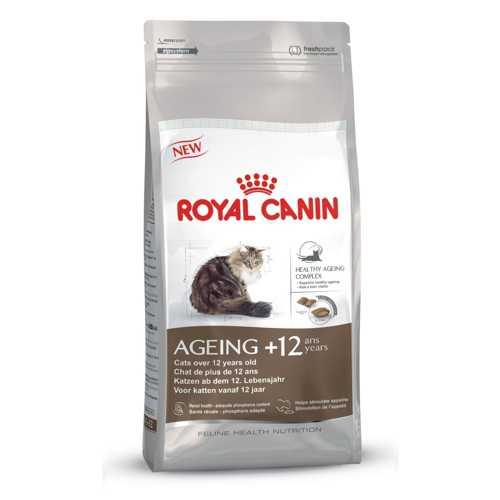 Royal Canin Ageing +12 | Сухой корм Роял Канин для кошек старше 12 лет 4 кг