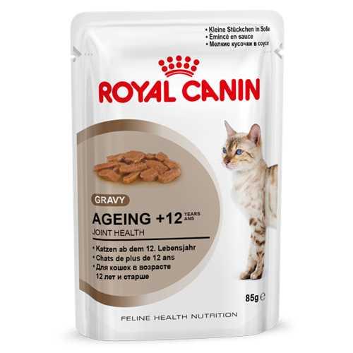 Royal Canin Ageing +12 | Паучи Роял Канин для кошек старше 12 лет (12 шт х 85 г)