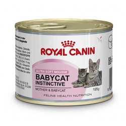 Royal Canin Babycat Instinctive мусс для котят до 4 месяцев (0,195  гр) 12 шт