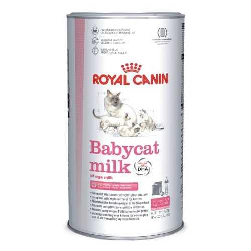 Royal Canin Babycat Milk | Сухой корм Роял Канин заменитель кошачьего молока в период с рождения до отъема 300 гр