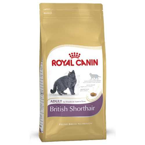 Royal Canin British Shorthair | Сухой корм Роял Канин для кошек породы Британская короткошерстная 400 гр
