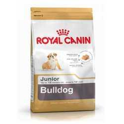 Royal Canin Bulldog Junior | Сухой корм Роял Канин для щенков породы Английский бульдог 12 кг