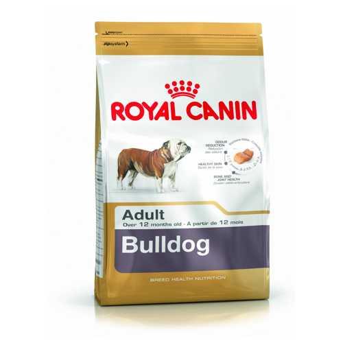 Royal Canin Bulldog | Сухой корм Роял Канин для взрослых собак породы Английский бульдог 3 кг