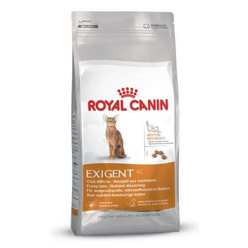 Royal Canin Exigent Protein Preference | Сухой корм Роял Канин Протеин Преференс для привередливых кошек к составу продукта 400 гр