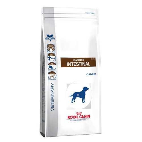 Royal Canin Gastro Intestinal GI25 | Сухой лечебный корм Роял Канин Интестинал при нарушениях пищеварения 2 кг