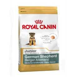 Royal Canin German Shepherd Junior | Сухой корм Роял Канин для щенков породы Немецкая овчарка 12 кг