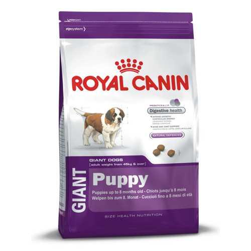 Royal Canin Giant Puppy   Сухой корм Роял Канин Джайнт Паппи для щенков гигантских пород 4 кг