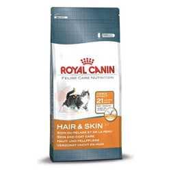 Royal Canin Hair & Skin | Сухой корм Роял Канин для кошек с проблемной шерстью и чувствительной кожей 2 кг