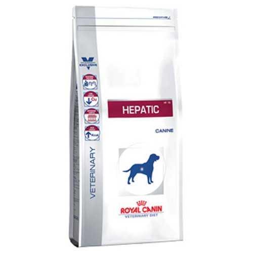 Royal Canin Hepatic HF16 | Сухой лечебный корм Роял Канин Гепатик при заболевании печени 1,5 кг