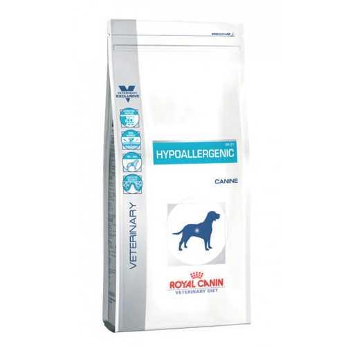 Royal Canin Hypoallergenic DR21 | Сухой лечебный корм Роял Канин Гипоаллергенный ДР21 при пищевой аллергии 2 кг