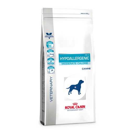 Royal Canin Hypoallergenic Moderate Calorie | Сухой лечебный корм Роял Канин Гипоаллергенный Модерейт Келори при пищевой аллергии 1,5