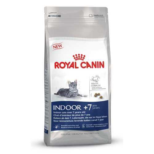 Royal Canin Indoor + 7 | Сухой корм Роял Канин для кошек старше 7 лет 1,5 кг