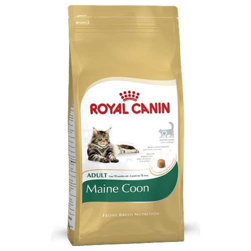 Royal Canin Maine Coon | Сухой корм Роял Канин для кошек породы Мейн Кун 4 кг