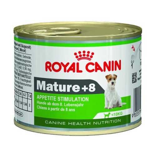 Royal Canin Mature +8 Mousse | Консервы Роял Канин Матюр +8 Мусс для пожилых собак 195 гр х 12 шт