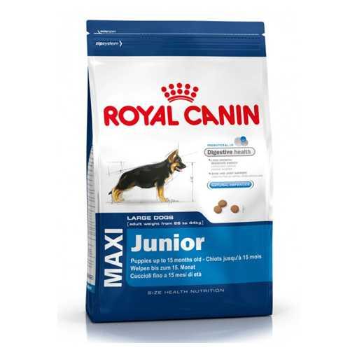 Royal Canin Maxi Junior   Сухой корм Роял Канин Макси Юниор для щенков крупных пород 4 кг
