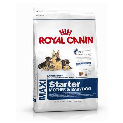 Maxi Starter   Сухой корм Роял Канин Макси Стартер для щенков крупных пород 4 кг