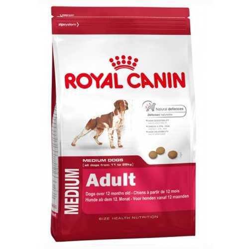 Royal Canin Medium Adult | Сухой корм Роял Канин Медиум Эдалт для взрослых собак средних пород 4 кг