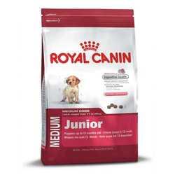 Royal Canin Medium Junior | Сухой корм Роял Канин Медиум Юниор для щенков средних пород 4 кг