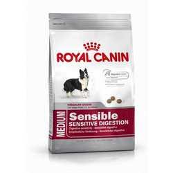 Royal Canin Medium Sensible | Сухой корм Роял Канин Медиум Дейджистив Кеа для взрослых собак средних пород 15 кг
