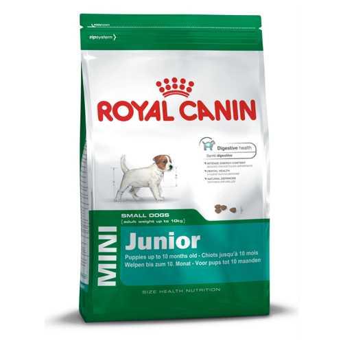 Royal Canin Mini Junior   Сухой корм Роял Канин Мини Юниор для щенков мелких пород 2 кг