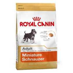 Royal Canin Miniature Schnauzer | Сухой корм Роял Канин для взрослых собак породы Миниатюрный шнауцер 3 кг