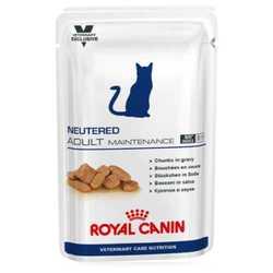 Royal Canin Neutered Adult Maintenance | Паучи Роял Канин Ньютрид Эдалт Мэйнтенэнс для стерилизованных котов и кошек (12 шт х 100 г)