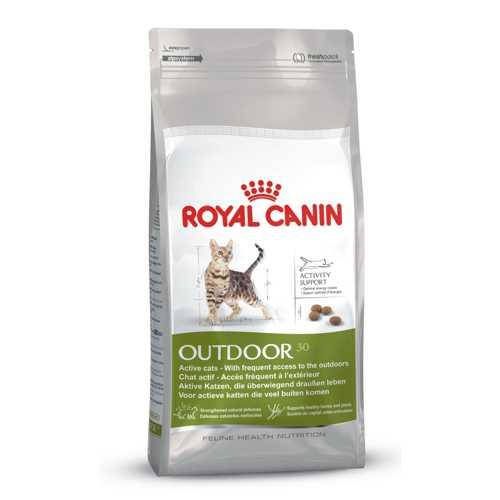 Royal Canin Outdoor | Сухой корм Роял Канин для активных кошек часто бывающих на улице 2 кг