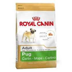 Royal Canin Pug | Сухой корм Роял Канин для взрослых собак породы Мопс 1,5 кг
