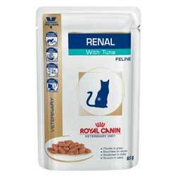 Royal Canin Renal Tuna | Паучи Роял Канин для кошек при хронической почечной недостаточности с тунцом (12 шт х 100 г)