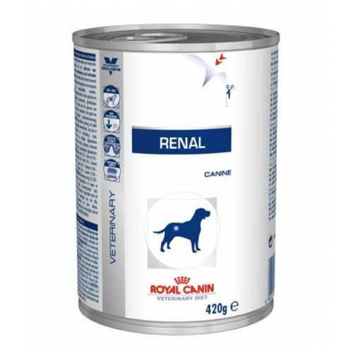 Royal Canin Renal диетические консервы для собак при заболеваниях почек (0,42 кг) 12 шт