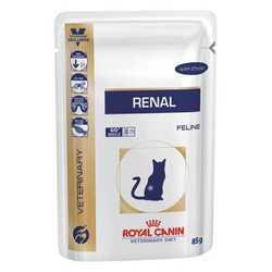 Royal Canin Renal | Паучи Роял Канин для кошек при хронической почечной недостаточности (12 шт х 100 г)