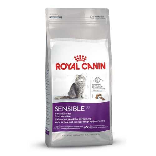 Royal Canin Sensible | Сухой корм Роял Канин для кошек с чувствительной пищеварительной системой 2 кг