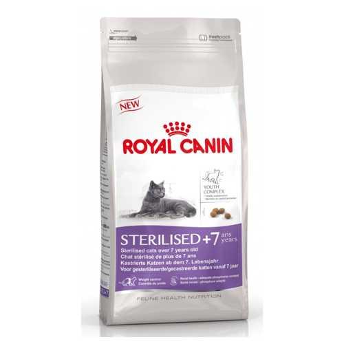 Royal Canin Sterilised +7 | Сухой корм Роял Канин для стерилизованных кошек и котов старше 7 лет 1,5 кг