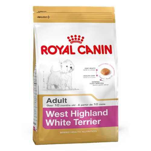 Royal Canin West Highland White Terrier   Сухой корм Роял Канин для взрослых собак породы Вест хайленд уайт терьер 3 кг