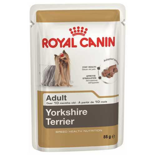 Royal Canin Yorkshire Terrier Adult Паштет (0.085 кг) 12 шт