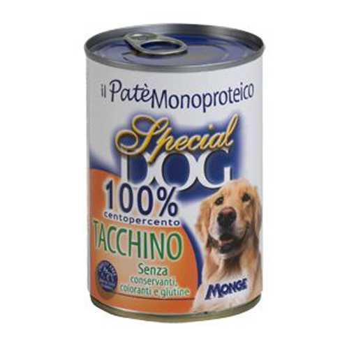 Спешиал дог консервы для собак с индейкой (0,40 кг) 12 шт