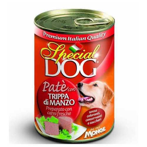 Спешиал дог консервы для собак курица с говяжим рубцом (0,40 кг) 12 шт