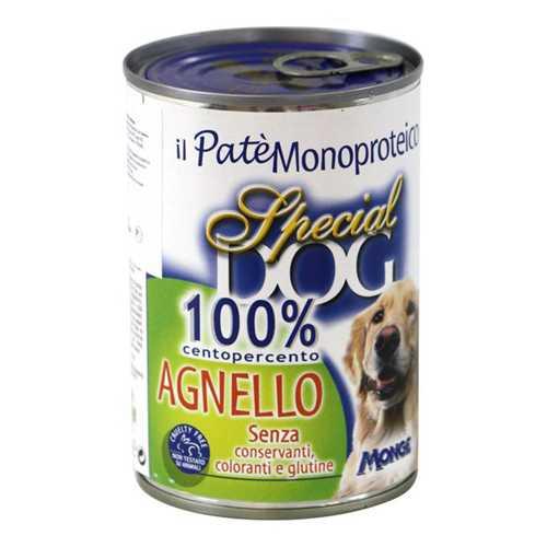 Спешиал дог консервы для собак с ягненком (0,40 кг) 12 шт