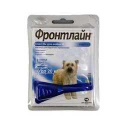 Frontline Spot on M капли для собак 10 - 20 кг