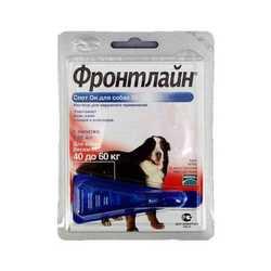Frontline Spot on XL капли для собак 40 - 60 кг