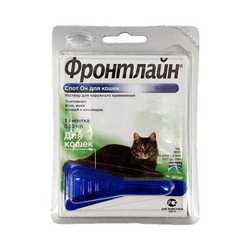 Frontline Spot on капли от блох и клещей для кошек